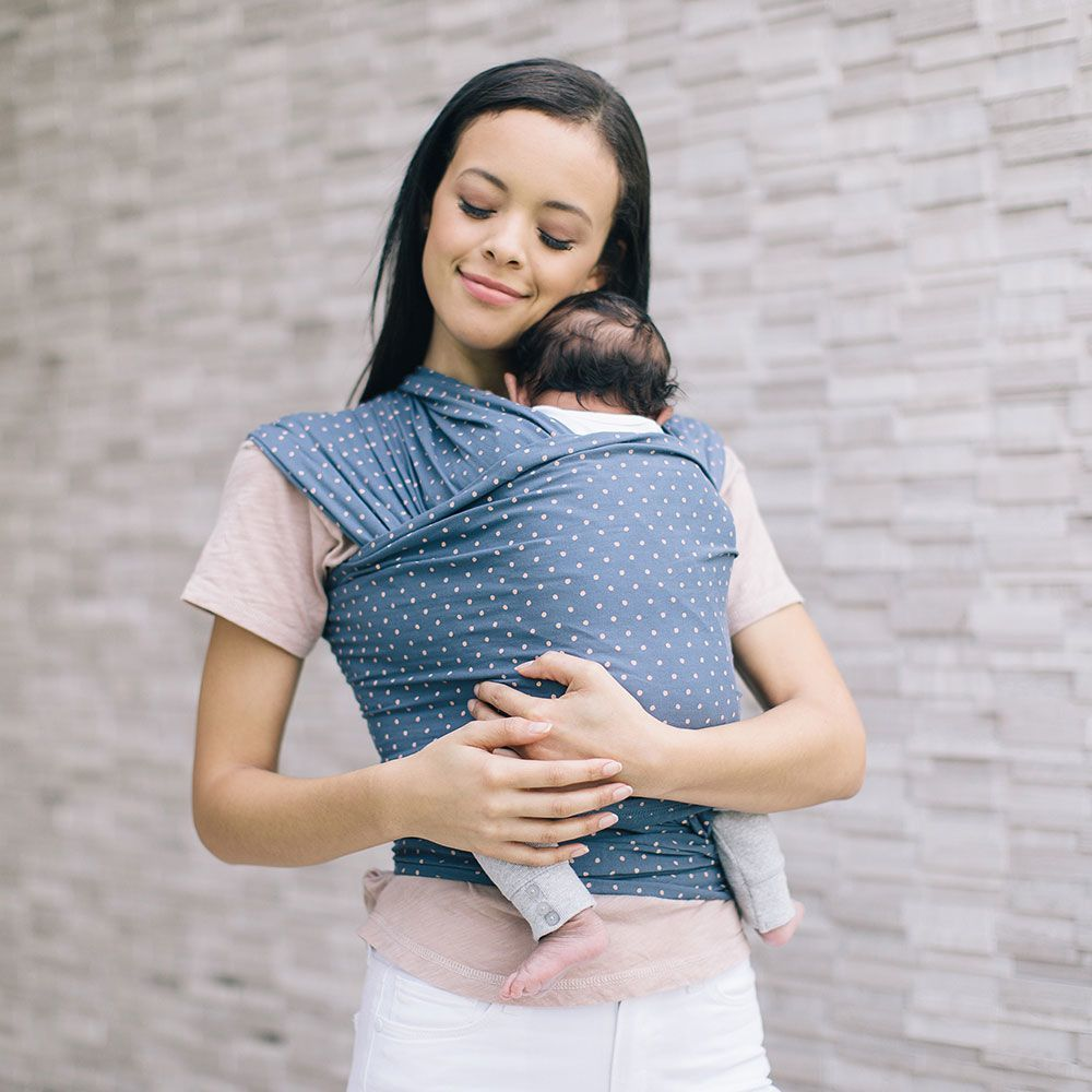 Ergobaby: Aura Baby Wrap - Coral Dots image