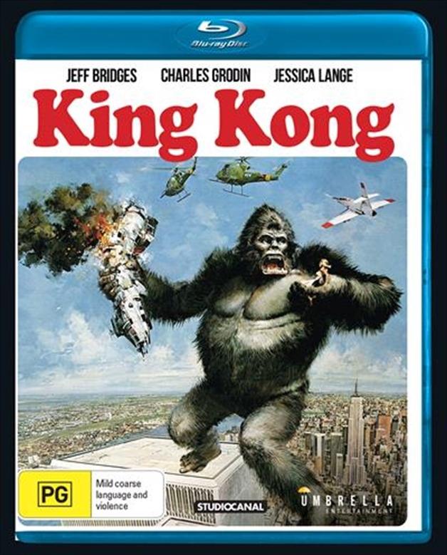 King Kong on Blu-ray
