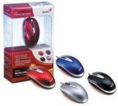 Genius Netscroll Traveler 100V Optical Mouse U+P Blue