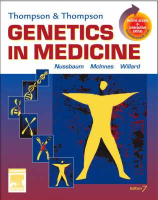 Thompson and Thompson Genetics in Medicine by Huntington F. Willard