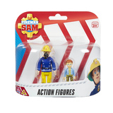 Fireman Sam Figure Pack - Sam In Mask & Norman
