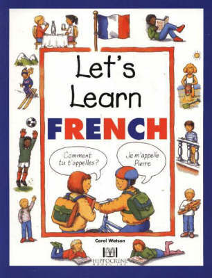 Let's Learn French by Carol Watson image