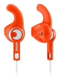 Philips ActionFit Sports In-Ear Headphones (Orange)
