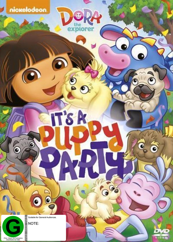 Dora The Explorer's Puppy Party on DVD