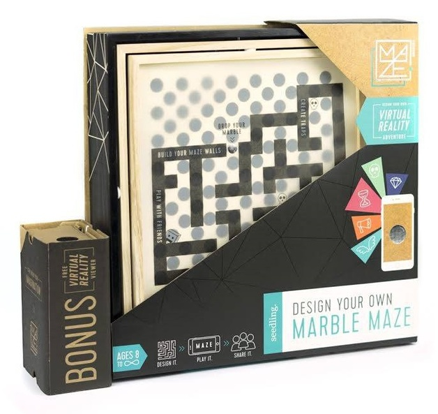 Seedling: Design your own Marble Maze