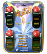 Additional Buzzers for Buzz! Quizzes (Wired) for PlayStation 2