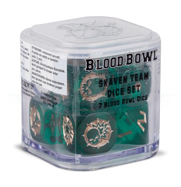 Blood Bowl Skaven Dice
