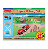 Melissa & Doug: Figure 8 Train Set