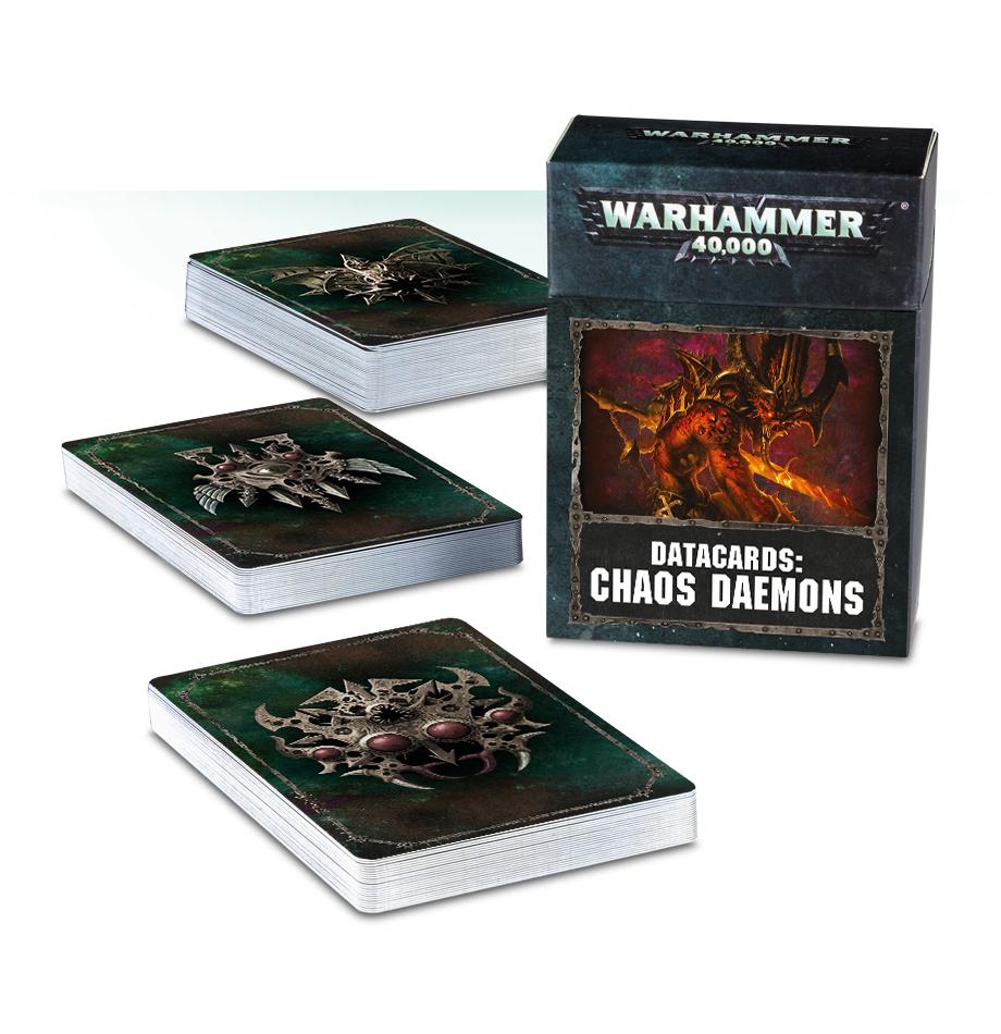 Warhammer 40,000 Datacards: Chaos Daemons image