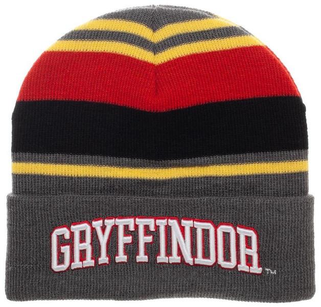 Harry Potter: Gryffindor - Stripe Cuff Beanie