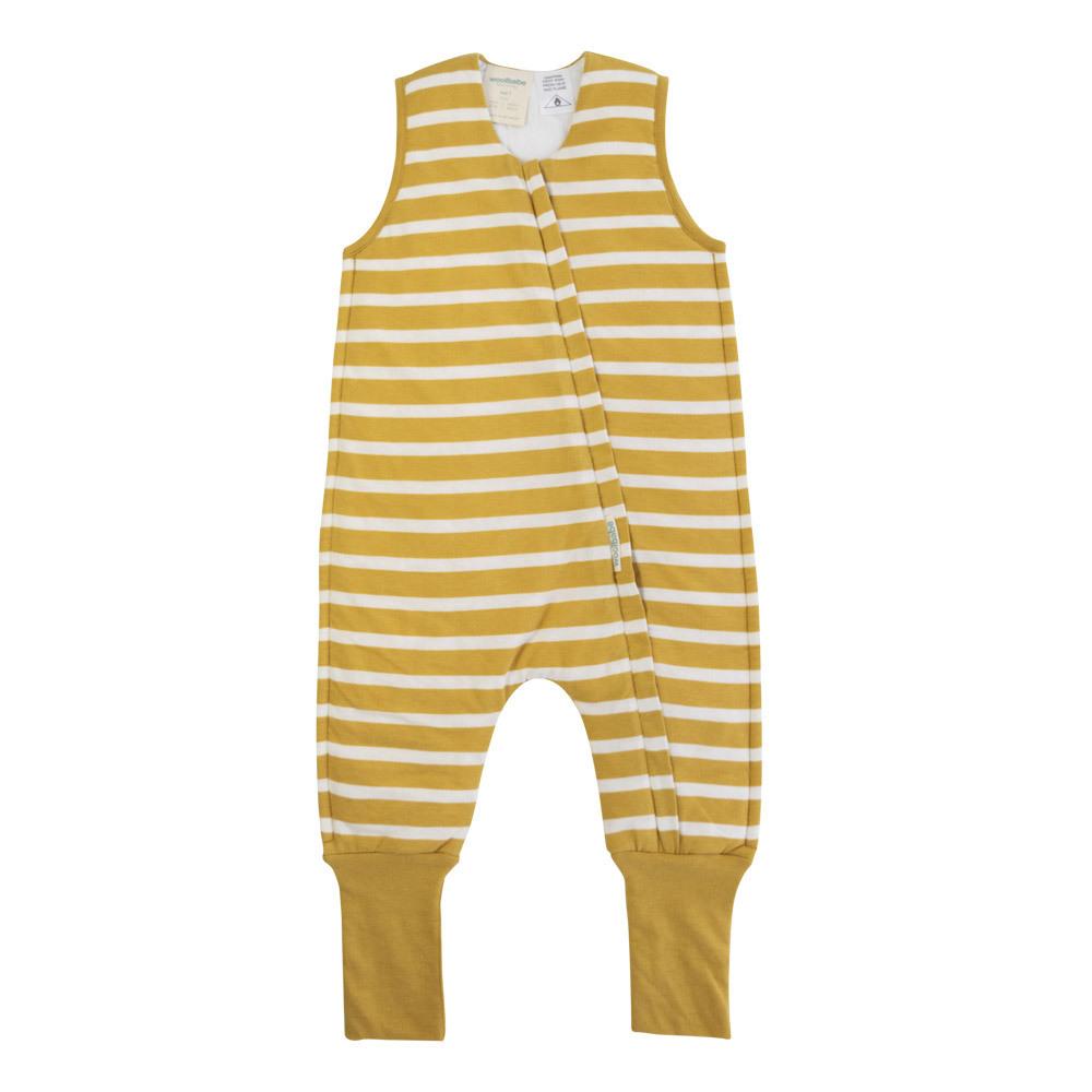 Woolbabe: Duvet Sleeping Suit - Kowhai (3 Years) image
