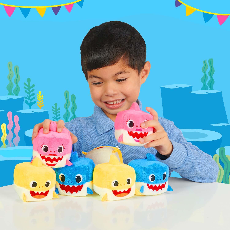 """Mommy Shark - 3"""" Sound Cube Plush image"""