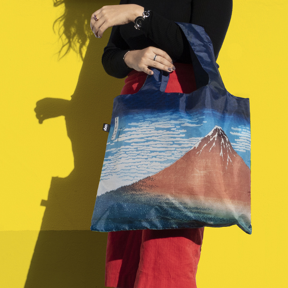 LOQI: Shopping Bag Museum Collection - Red Fuji image