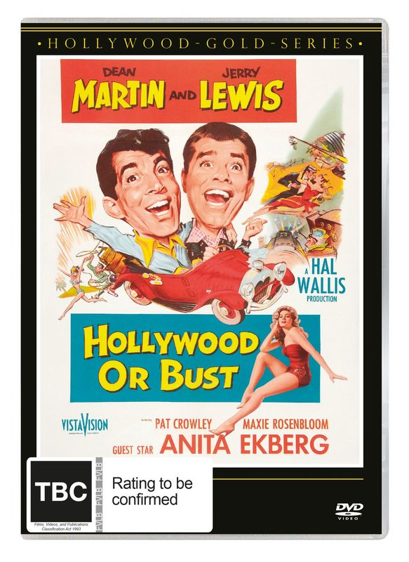 Hollywood Or Bust on DVD