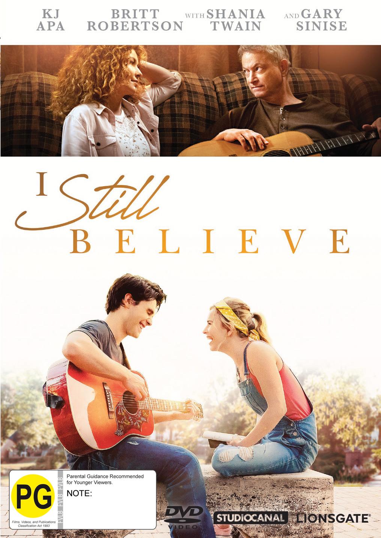 I Still Believe on DVD image