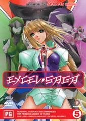 Excel Saga - V5 on DVD