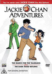 Jackie Chan Adventures on DVD