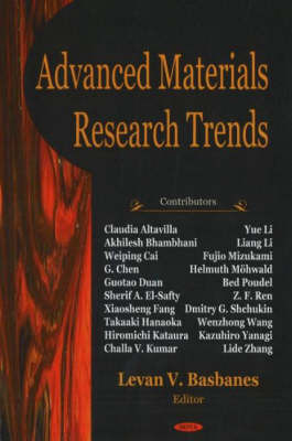 Advanced Materials Research Trends