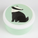 Round Woodland Friends Badger Box (Small)