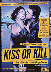 Kiss Or Kill on DVD