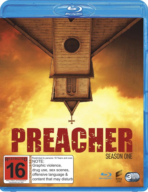 Preacher - Season One on Blu-ray