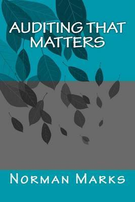 Auditing That Matters by Norman D Marks