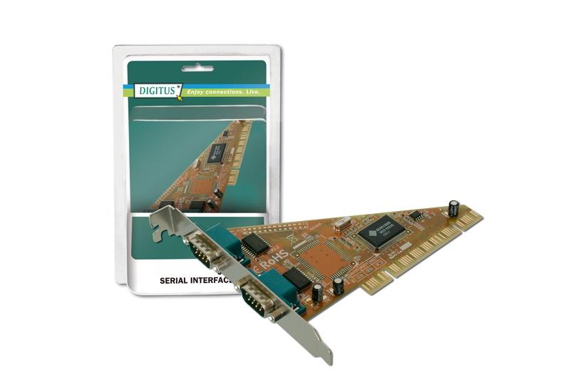 Digitus PCI 2 Port Serial Card image
