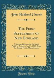 The First Settlement of New England by John Hubbard Church image