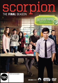 Scorpion: The Complete Fourth Season on DVD