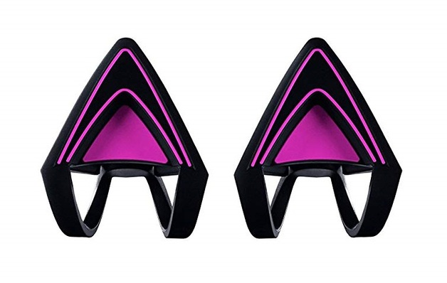 Razer Kitty Ears for Kraken Headset (Neon Purple) for PC