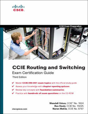 CCIE Routing and Switching Exam Certification Guide by Narendra Mehta image