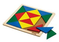 Wooden Mosaic - Isosceles Triangles