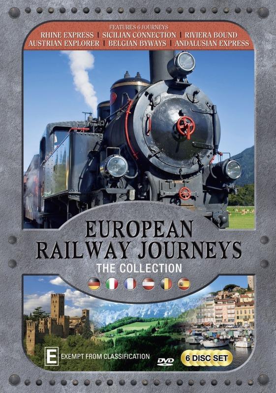 European Railway Journeys on DVD