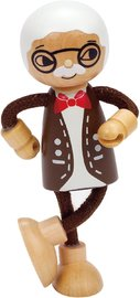 Hape: Grandfather Wooden Doll image