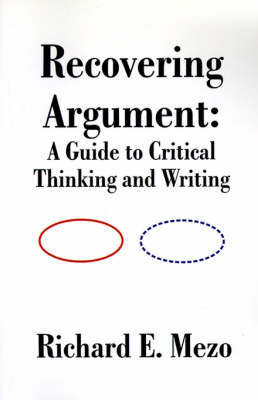 Recovering Argument by Richard E. Mezo image
