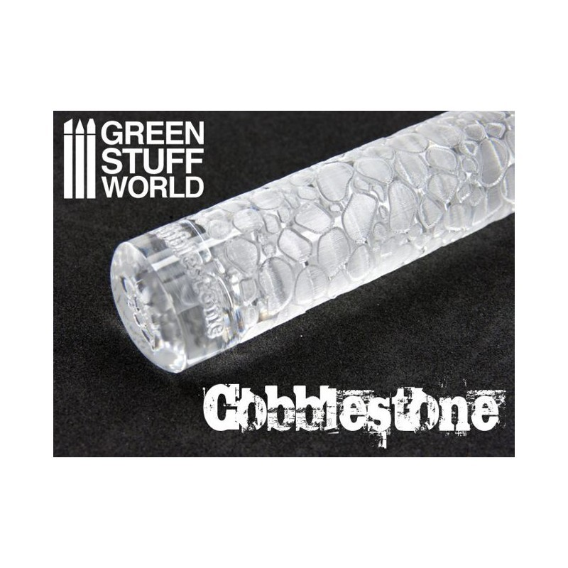 Greenstuff World Texture Rolling Pin: Cobblestone image