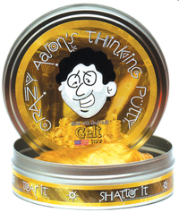 Crazy Aarons Thinking Putty: Gelt (Made With Real Gold)