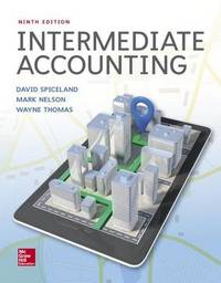 Loose Leaf Intermediate Accounting by J.David Spiceland image