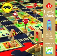 Djeco: Giant Puzzles - The City