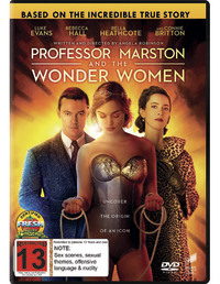 Professor Marston & The Wonder Women on DVD