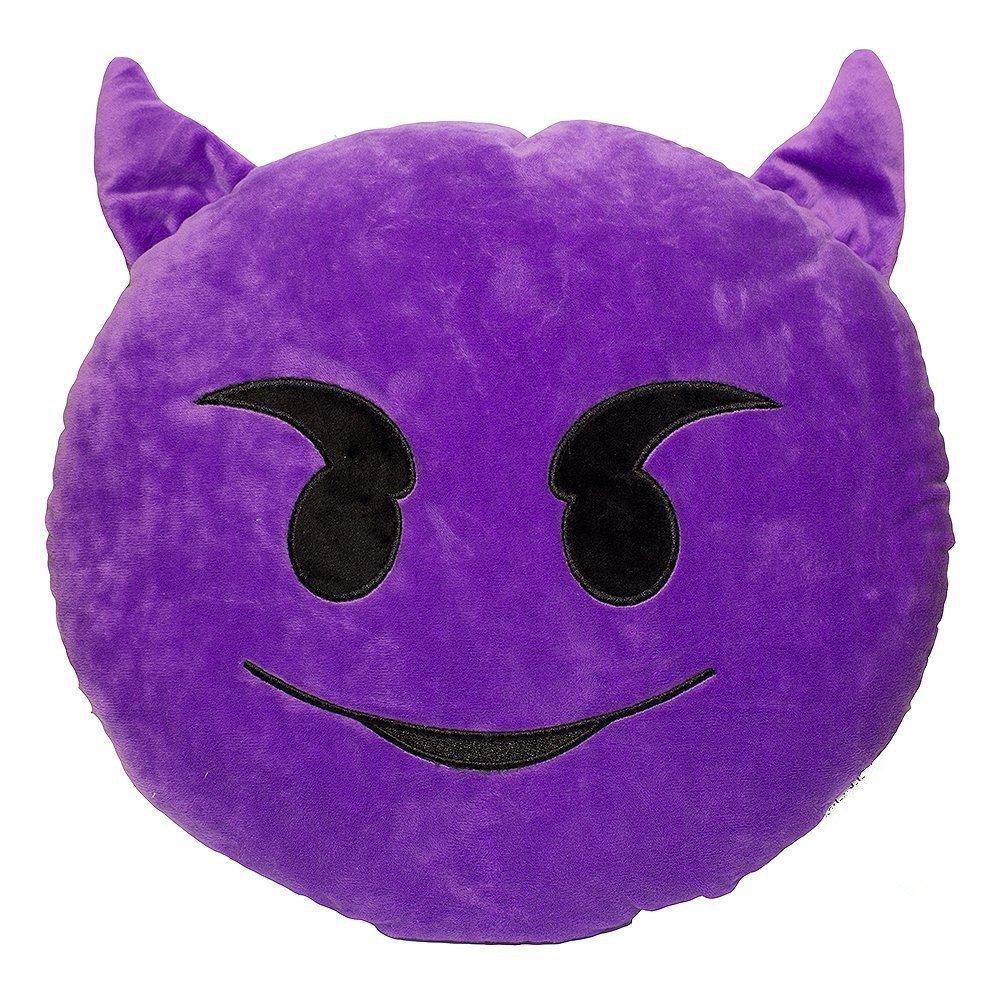 Smiling Devil Eye Cushion - 34cm image