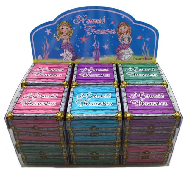 Enchanted Garden - Mermaid Treasure Box (Assorted Designs)