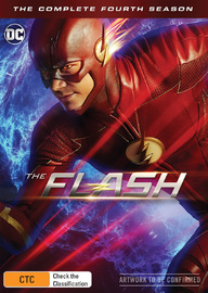 The Flash: Season 4 on DVD