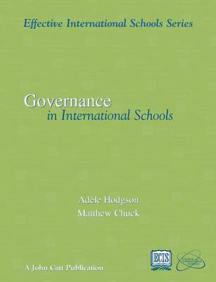 Governance in International Schools by Adele Hodgson image