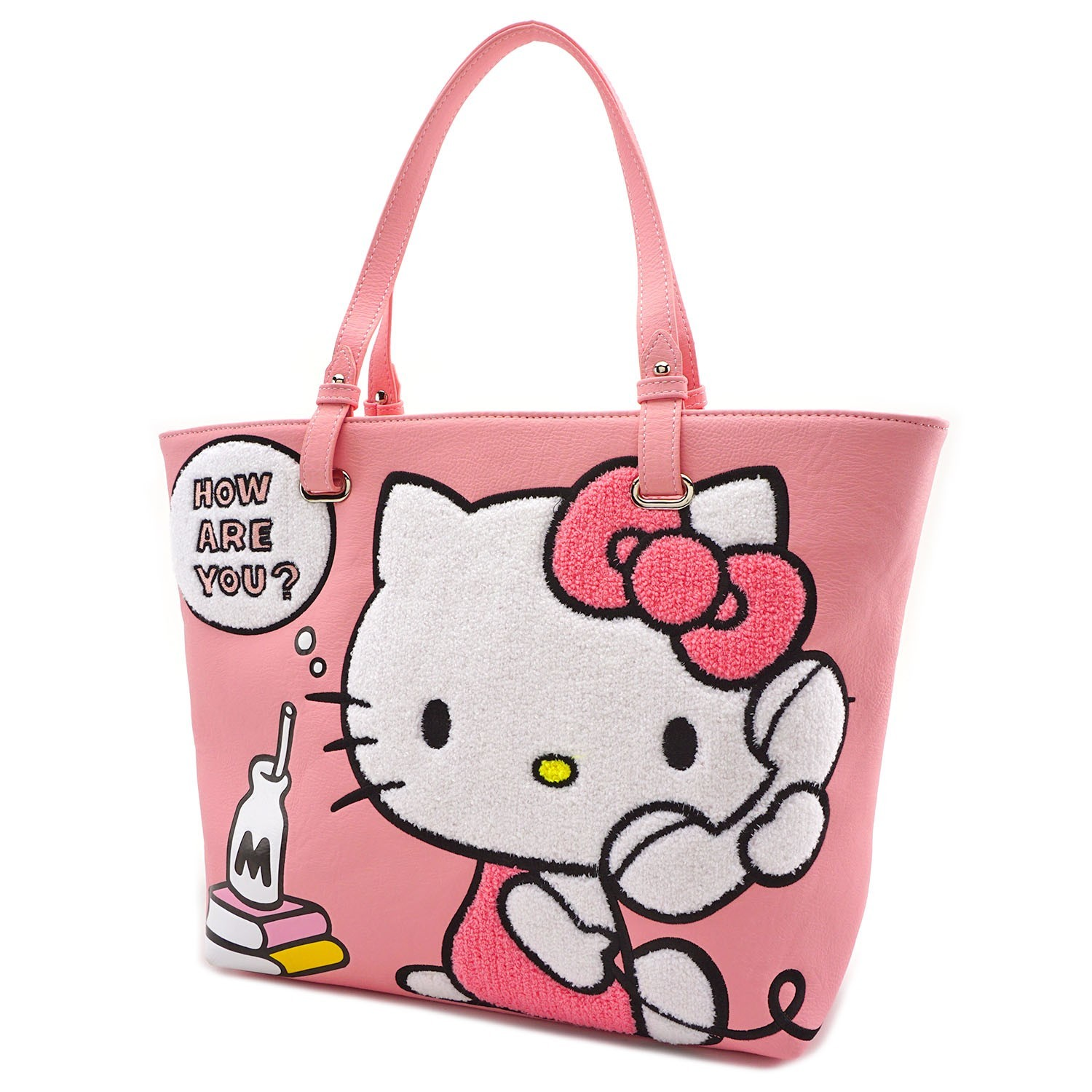 dd027692e Loungefly: Hello Kitty - How Are You Pink Tote Bag | Women's | at ...