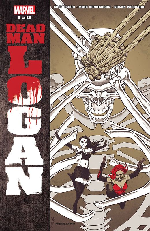 Dead Man Logan - #5 by Ed Brisson