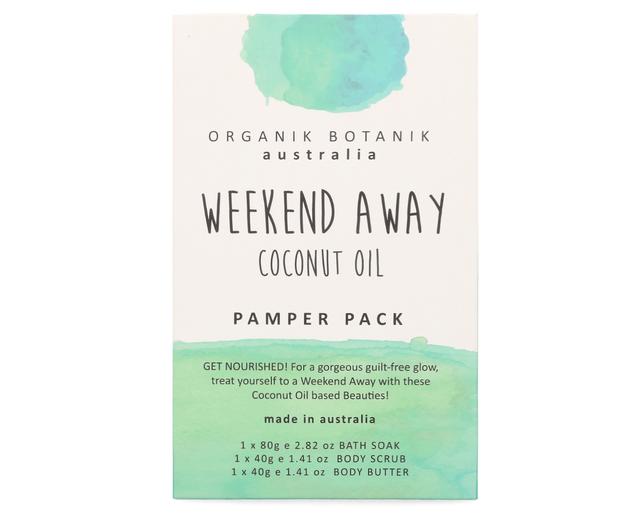 Organik Botanik Weekend Away Pamper Pack - Coconut Oil