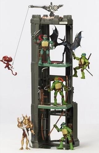 Teenage Mutant Ninja Turtles - Monster Action Tower Playset image