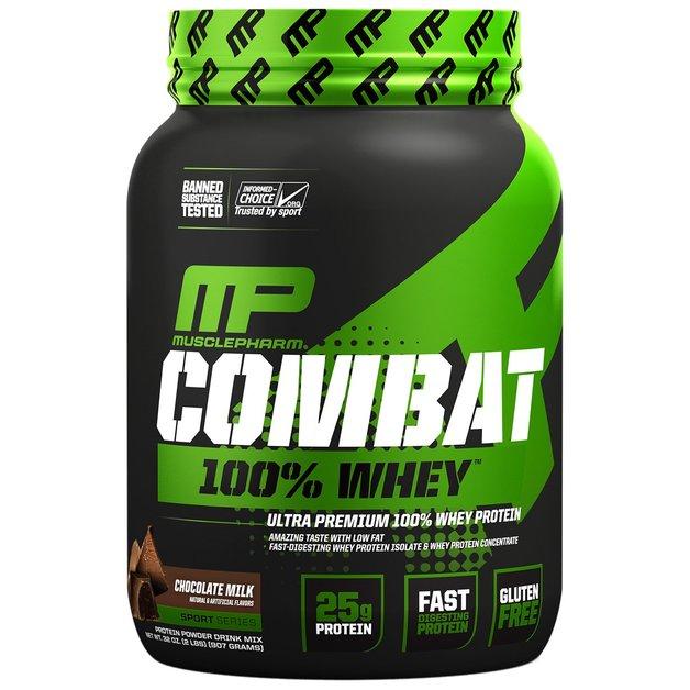 MusclePharm: Combat 100% Whey - Chocolate Milk (907g)