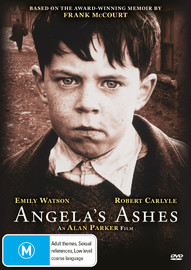 Angela's Ashes on DVD image